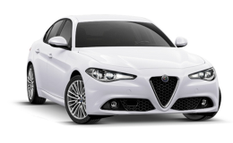 Alfa Romeo Giulia fronte