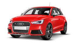 Audi A1 1.6 Tdi 85kw S Tronic Design Sb Rossa Fronte