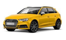 Audi A3 1.4 Tfsi E-Tron S Tronic Design S.Back Gialla Fronte