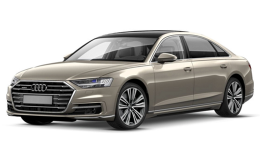 Audi A8 50 Tdi 3.0 Quattro Tip tronic Lunga Grey Fronte