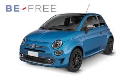 FIAT 500 Pop BE FREE BASE Azzurra Fronte