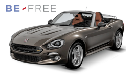 FIAT 124 SPIDER 1.4 Multi Air 140cv Lusso BE FREE BASE marrone fronte