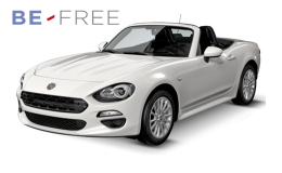 FIAT 124 SPIDER 1.4 Multi Air 140cv BE FREE BASE bianca fronte