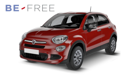 FIAT 500X 1.3 Mjet 95cv 4x2 City Look BE FREE PLUS rossa fronte