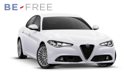 ALFA ROMEO GIULIA 2.2 Turbo At8 150cv Super BE FREE PRO BASE Bianca Fronte