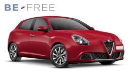 ALFA ROMEO GIULIETTA 1.6 Jtdm 120cv Business BE FREE PRO BASE Rossa Fronte