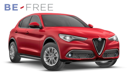 ALFA ROMEO STELVIO 2.2 Turbo 210cv At8 Q4 Super BE FREE PRO BASE Rossa Fronte