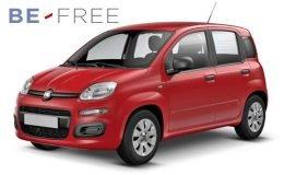 FIAT PANDA 1.2 69cv E6 Easy BE FREE PRO BASE Rossa Fronte
