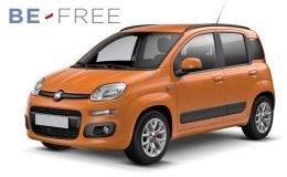 FIAT PANDA 1.3 Mjt 95cv S&s E6 Easy BE FREE PRO BASE Arancio Fronte
