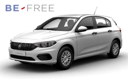 FIAT TIPO 1.3 Mjt 95cv 5mS&s Pop 5p BE FREE PRO BASE bianca fronte