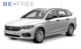 FIAT TIPO SW 1.3 Mjt 95cv 5mS&s Easy BE FREE PRO BASE bianca fronte