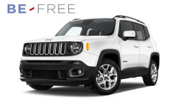 JEEP RENEGADE MY17 1.6 Mjet 105cv Business BE FREE PRO PLUS bianca fronte