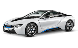 BMW i8 fronte