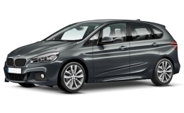 BMW SERIE 2 ACTIVE 225 xe Iperformance Luxury Grigio Topo Fronte