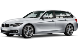 BMW SERIE 3 SW 318i Business Advantage Touring Grey Fronte