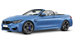 BMW SERIE 4 Cabrio 430d Luxury Blue Fronte
