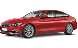 BMW SERIE 4 GC 430d Xdrive Luxury Rossa Fronte