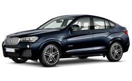 BMW X4 Xdrive 35da Xline Blue Fronte