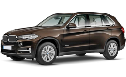 BMW X5 Xdrive 40e Iperformance Business Marrone Fronte