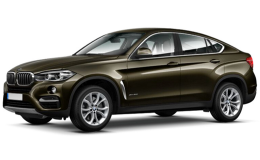 BMW X6 Xdrive40d Extravagance Petrolio Fronte