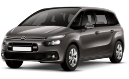 CITROEN GRAND C4 PICASS Bluehdi 150 S&s Eat6 Shine Grey Fronte