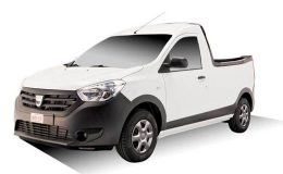 DACIA Dokker Pick-Up fronte