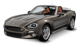 FIAT 124 SPIDER 1.4 Multi Air 140cv At6 Lusso marrone fronte