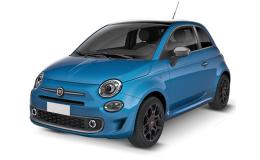 FIAT 500 1.3 95cv Multijet S azzurra fronte