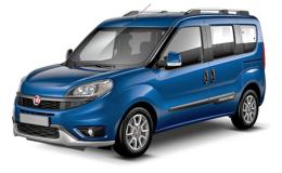 FIAT DOBLO 1.6 Mjt 16v 120cv Trekking blu fronte