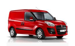 FIAT Doblò Cargo - Allestimento Idraulico rosso fronte