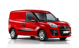 FIAT Doblò Cargo - Allestimento Manutentore rosso fronte