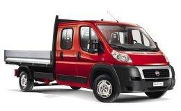 FIAT DUCATO CASSONE 35 Mh1 2.3 Mjet16v 130cv Dop.Cab rossa fronte