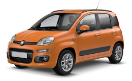 FIAT PANDA 0.9 Twinair Turbo Natural Power Lounge arancio fromte