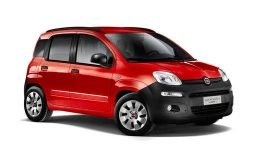 FIAT PANDA 900cc Natural Power Euro6 Van2 P. Pop rossa fronte