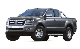FORD RANGER Limited Auto 4wd 3.2 Tdci 200cv Dc grigio fronte