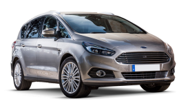 FORD S-MAX 2.0 Tdci 150cv S&s Pshift Tit.Bus. 7p grigia fronte