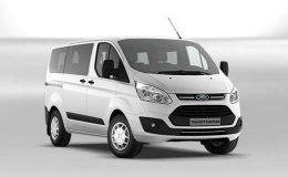 FORD TRANSIT CUSTOM 310 L1h1 2.0tdci 130cv Auto Trend bianco fronte