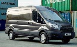FORD TRANSIT 310 L3h3 Trend 130cv 2.0tdci Eco Auto marrone fronte
