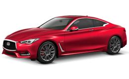 INFINITI Q60 3.0t S Sport Tech Auto Awd rossa fronte