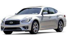 INFINITI Q70 Hybrid PremiumTech bianca fronte