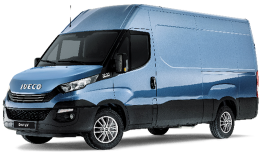 IVECO DAILY 35s14 V 4100 H3 blu fronte