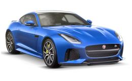 Jaguar F-TYPE Coupe fronte