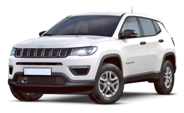JEEP COMPASS 17 2.0 Mjet 125kw Limited 4wd Auto bianca fronte