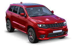 JEEP GRAND CHEROKEE 3.0 V6 Crd 184kw Overland rossa fronte