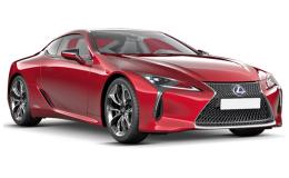 LEXUS LC 3.5 Hybrid Sport+ rossa fronte