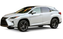 LEXUS RX 450h Luxury bianca fronte