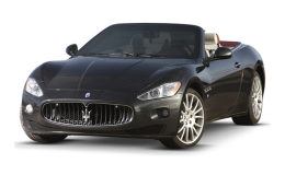 Maserati Grancabrio 4.7 V8 Mc Automatica Nera Fronte