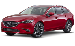 MAZDA 6 2.2 Skyactiv-D175 Cv 6at AwdExceed rossa fronte