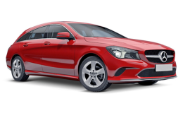 MERCEDES CLA Shootingbrake fronte