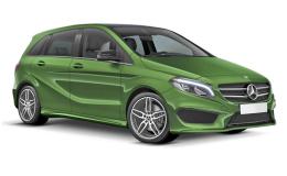 MERCEDES B-CLASS B 220 D 4matic Automatic Premium verde fronte